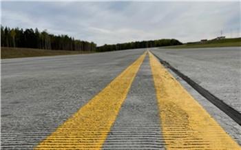 В красноярском аэропорту запустили новую магистральную рулежную дорожку. Она увеличит пропускную способность вдвое