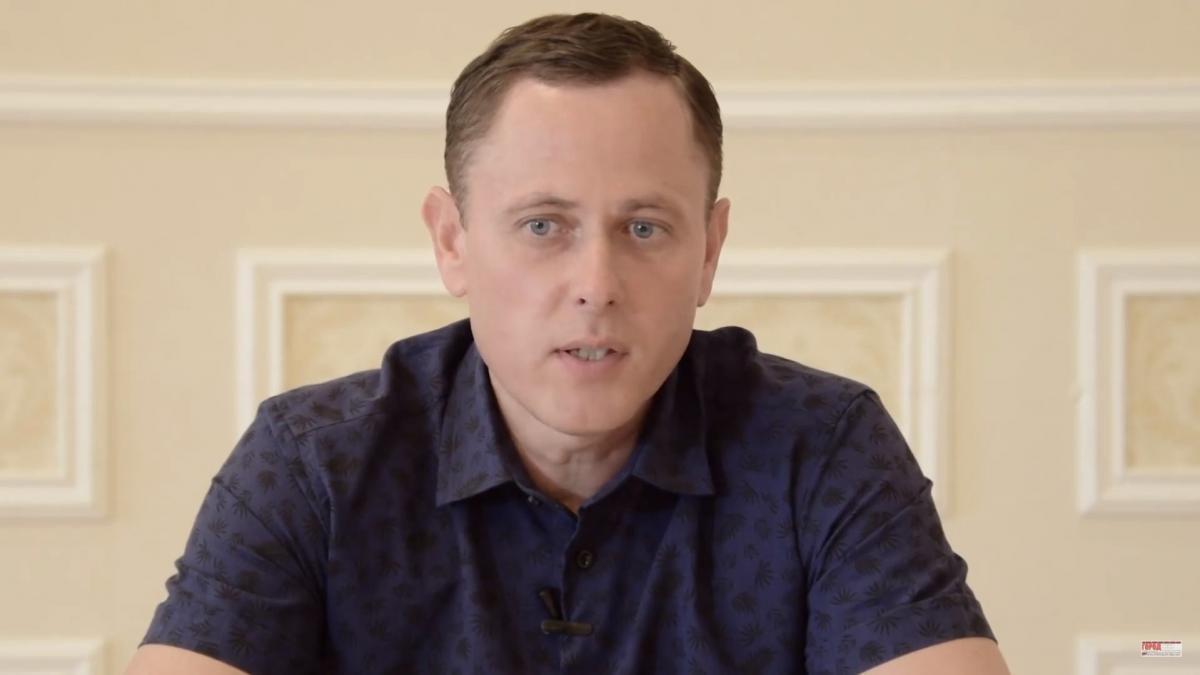 Кандидат от партии 'За майбутнє' Саюк заявляет о своей победе на выборах в Никополе