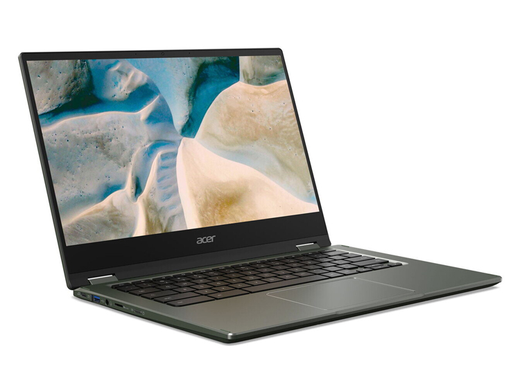 Acer представила ноутбук Chromebook Spin 514 с процессором AMD Ryzen Mobile