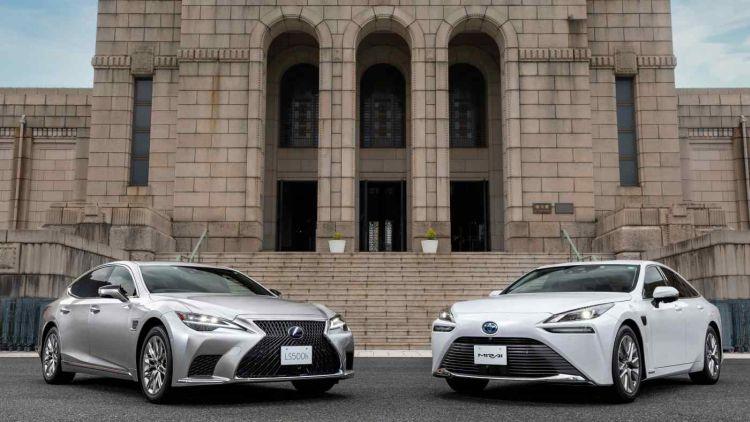 Toyota представила первые автомобили с поддержкой обновления системы помощи водителю по воздуху