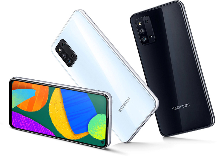 Представлен смартфон Samsung Galaxy F52 5G с квадрокамерой и 120-Гц дисплеем