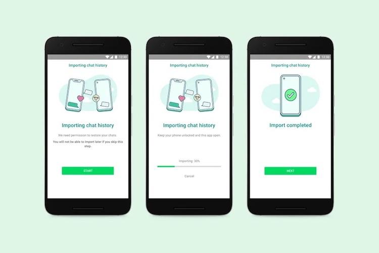 В WhatsApp появился полный перенос чатов с iPhone на Android — пока он доступен только в Samsung Galaxy Z Fold3 и Galaxy Z Flip3