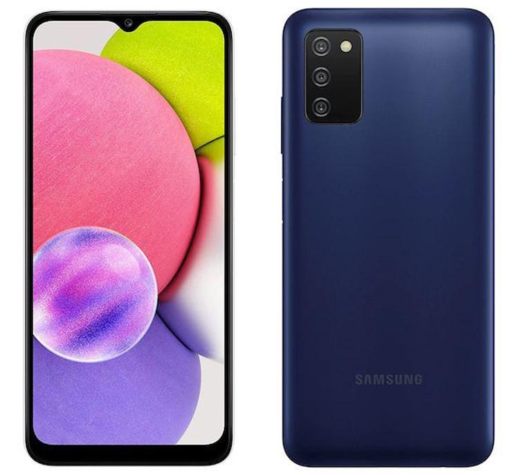 Бюджетный смартфон Samsung Galaxy A03s получит процессор MediaTek Helio P35