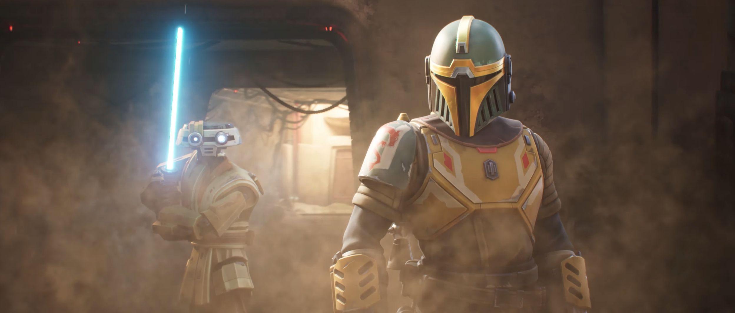 Авторы Star Wars: Hunters выпустили CG-трейлер с битвой на арене и перенесли релиз на 2022 год