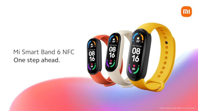 Xiaomi представила международную версию Mi Band 6 с поддержкой NFC — в России он тоже выйдет