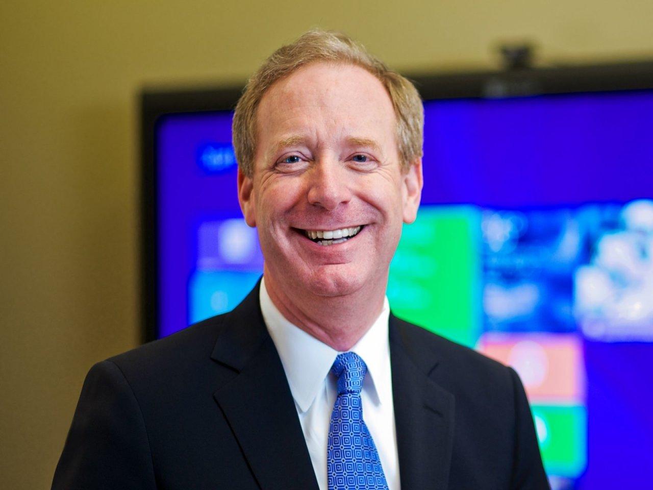 Брэд Смит назначен вице-председателем совета директоров Microsoft