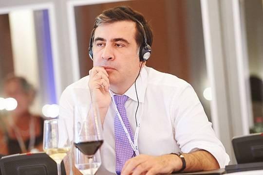 Сторонники Саакашвили устроили митинг в центре Тбилиси