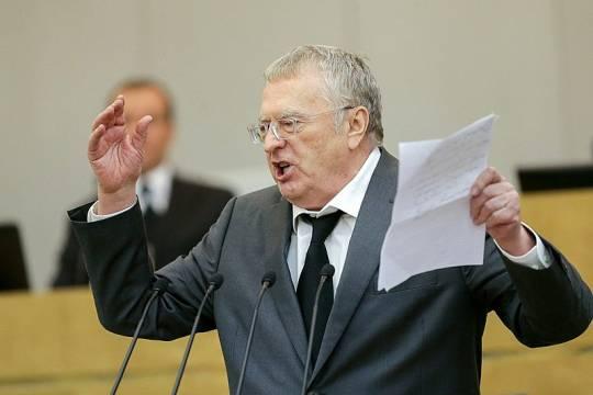 Жириновский пояснил своё предложение об ограничении веса россиян