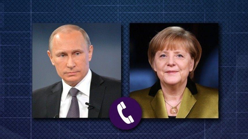 О чем беседовал Владимир Путин с Ангелой Меркель? — подробности