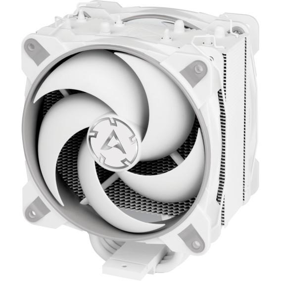 Процессорный охладитель Arctic Freezer 34 eSports Duo: кулер башенного типа с четырьмя тепловыми трубками прямого контакта и двумя вентиляторами 120 мм
