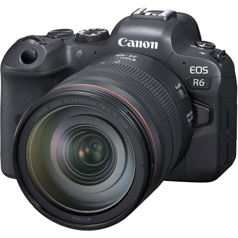 Полнокадровая беззеркальная камера Canon EOS R6: альтернатива флагману