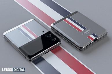 Самый дорогой Samsung Galaxy Z Flip3 показали на концептуальных рендерах. Это Galaxy Z Flip3 Thom Browne Edition за 2000 долларов