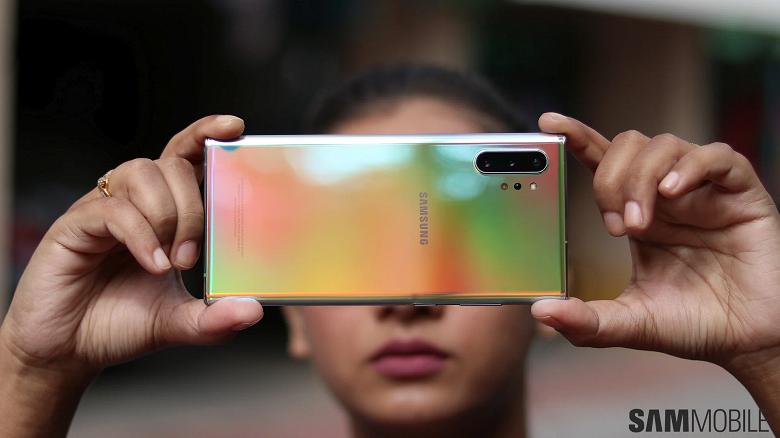 Обновление улучшает камеру Samsung Galaxy Note10, и не только