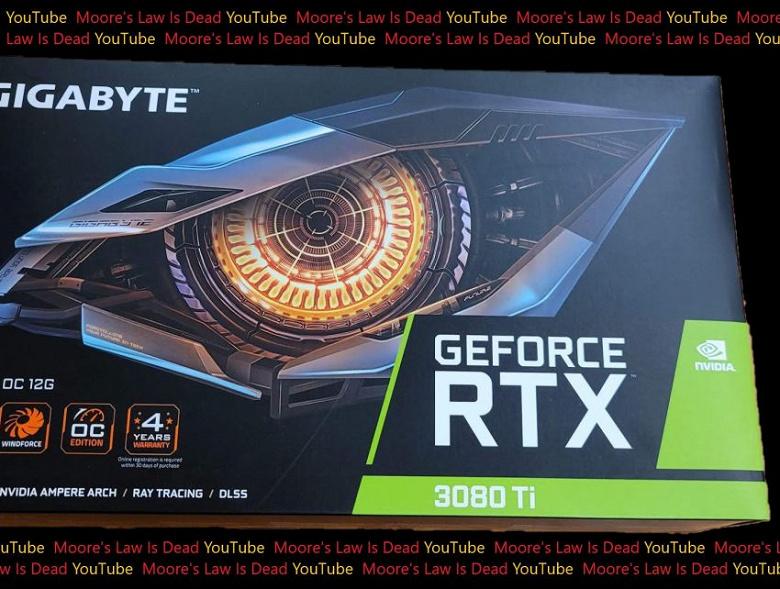 GeForce RTX 3080 Ti уже пошла по рукам. Живое фото Gigabyte GeForce RTX 3080 Ti Gaming OC в коробке