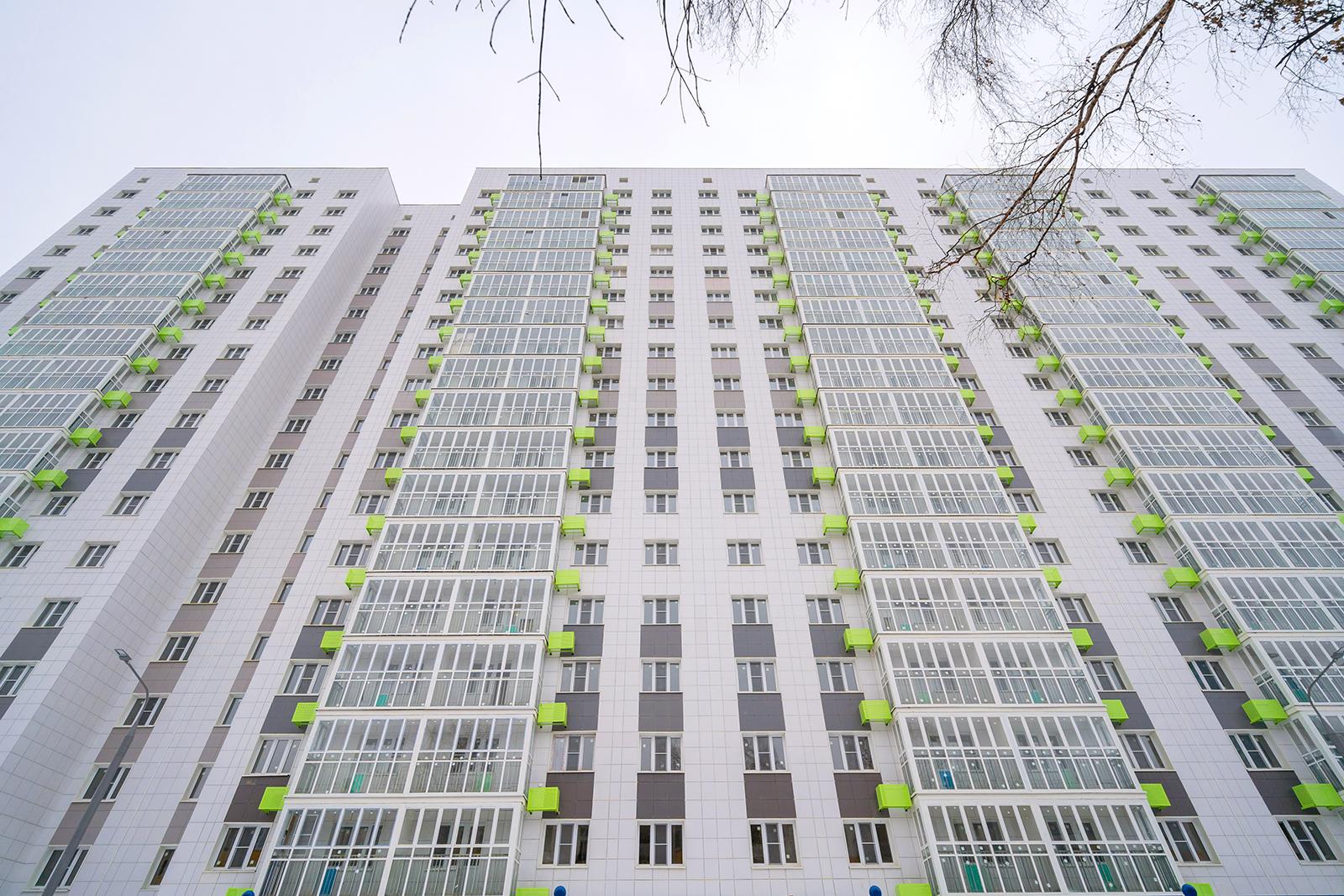 В Щукине построили первый в районе дом по программе реновации