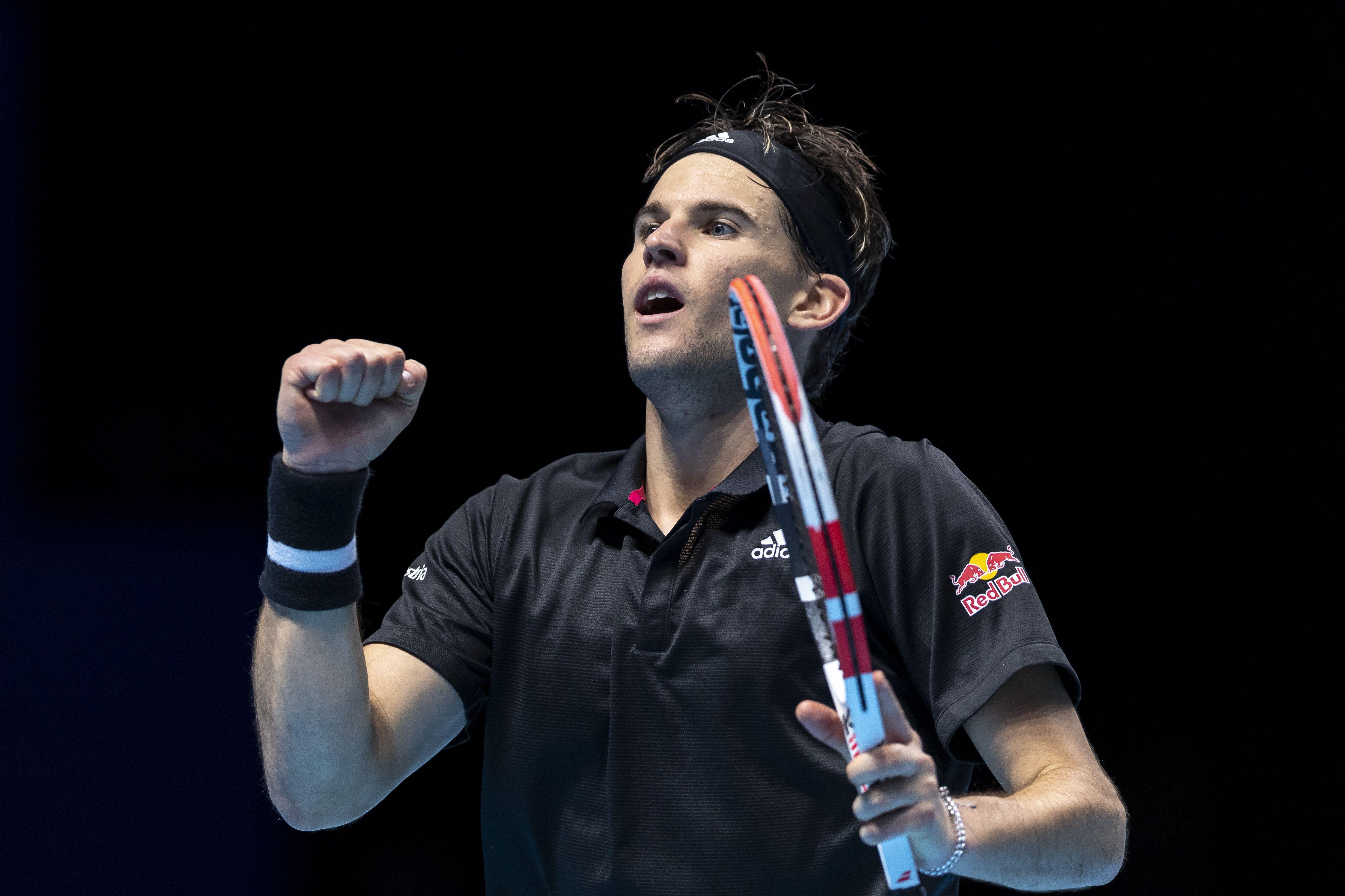 Радостные эмоции Тима после выхода в финал Итогового чемпионата ATP. Видео
