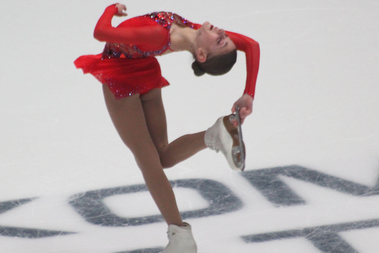 Косторная обратилась к болельщикам после Гран-при России (ФОТО)