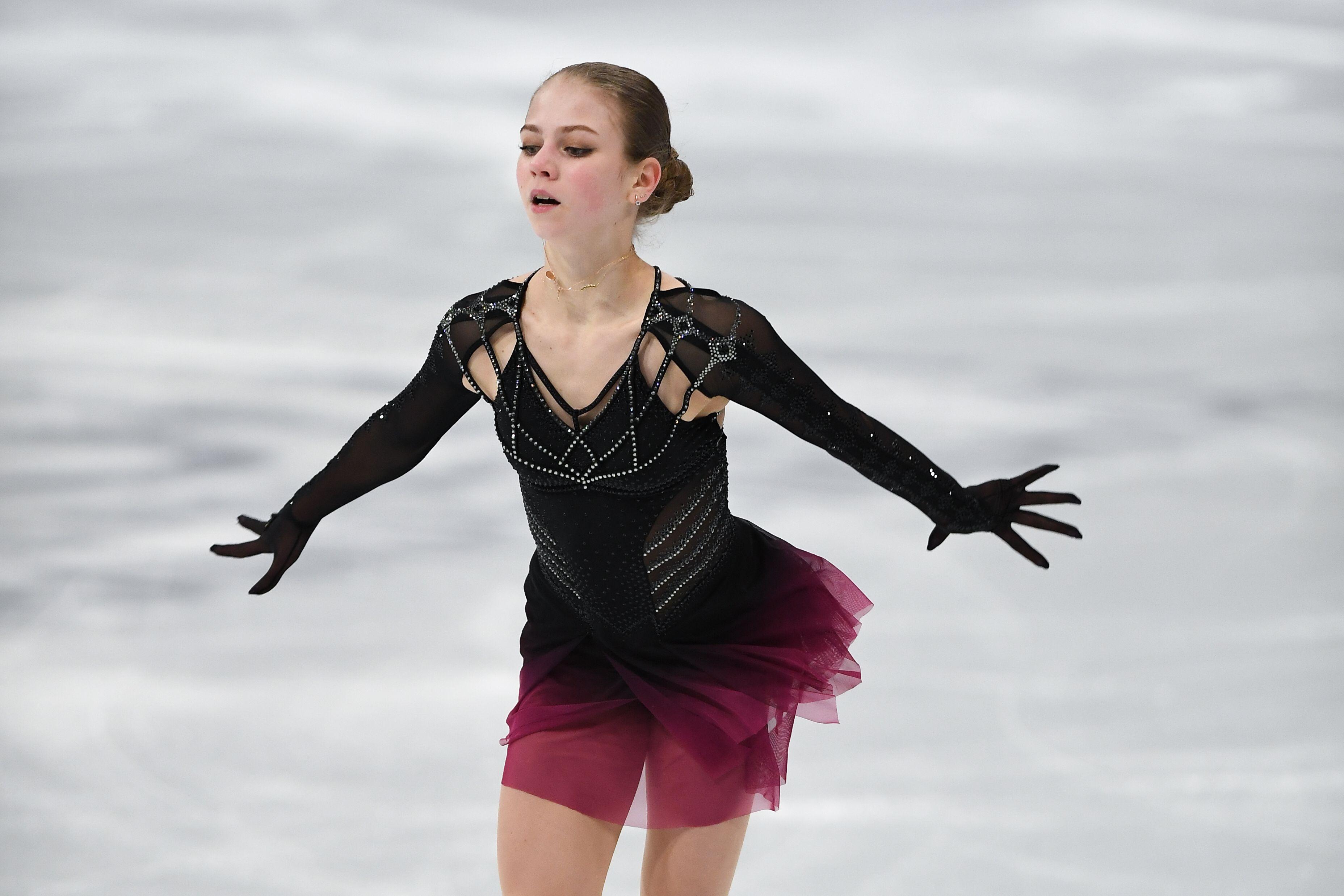 Трусова рассказала, с какими трудностями столкнулась на ЧМ в Стокгольме