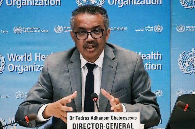 Глава ВОЗ: G20 должна стать лидером в укреплении борьбы с пандемией