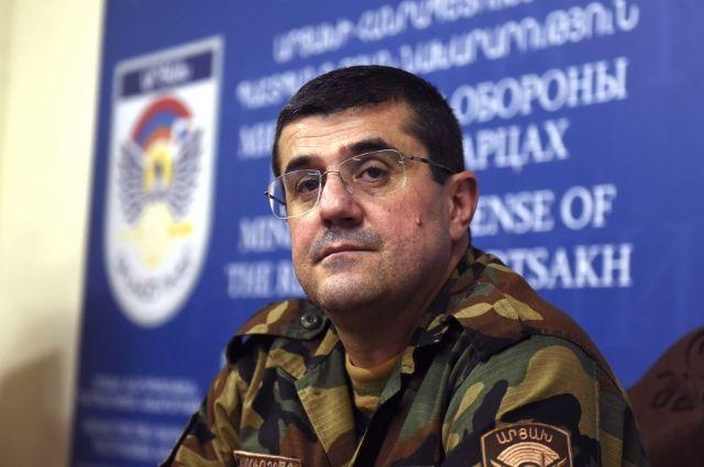 Президент Карабаха поблагодарил РФ и Путина за прекращение войны