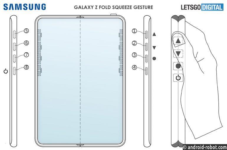 Samsung Galaxy Z Fold 3 будет с функциями управления жестами