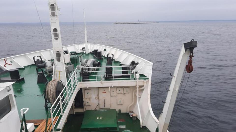 Студентка из Калининграда нашла затопленное на глубине 26 метров судно