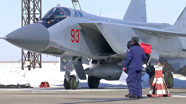 Yahoo News Japan (Япония): В российской Арктике несут службу истребители МИГ-31. В жуткий холод!