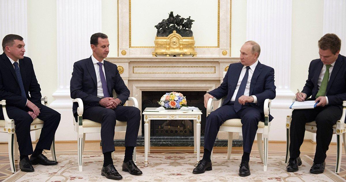 Встреча Путина и Асада: если бы не covid-19, не о чем было бы говорить (Al-Quds, Великобритания) (Al-Quds Al-Arabi)