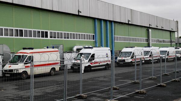 В Петербурге вновь выросло число госпитализаций больных COVID-19