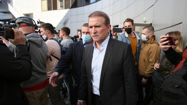 Медведчук выступил за создание газотранспортного консорциума