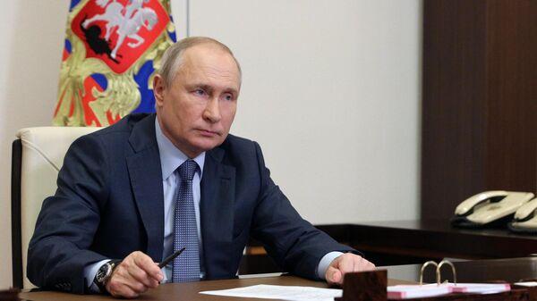 Путин прокомментировал скандальное заявление Байдена в свой адрес