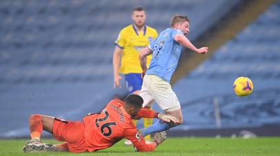 «Манчестер Сити» обыграл «Брайтон» в матче АПЛ