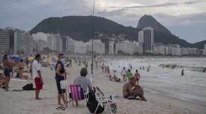 В Бразилии выявили более 67 тысяч случаев заболевания коронавирусом