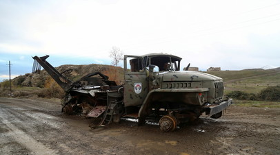 Армянский омбудсмен сообщил о ранении нескольких военнослужащих в Нагорном Карабахе