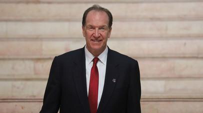 Глава Всемирного банка прокомментировал переговоры с вице-премьером Оверчуком
