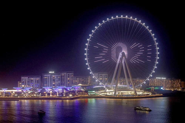 В Дубае построено самое высокое колесо обозрения в мире