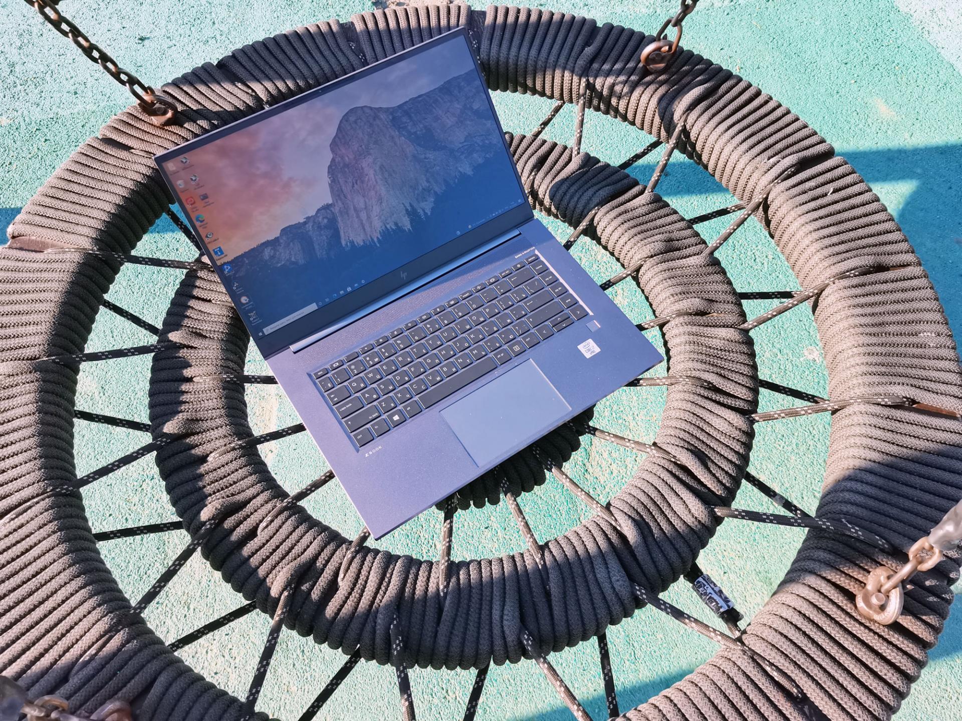 Тест-драйв ноутбука HP Zbook Studio G7