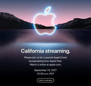 Apple представит iPhone 13 и Apple Watch Series 7 уже 14 сентября