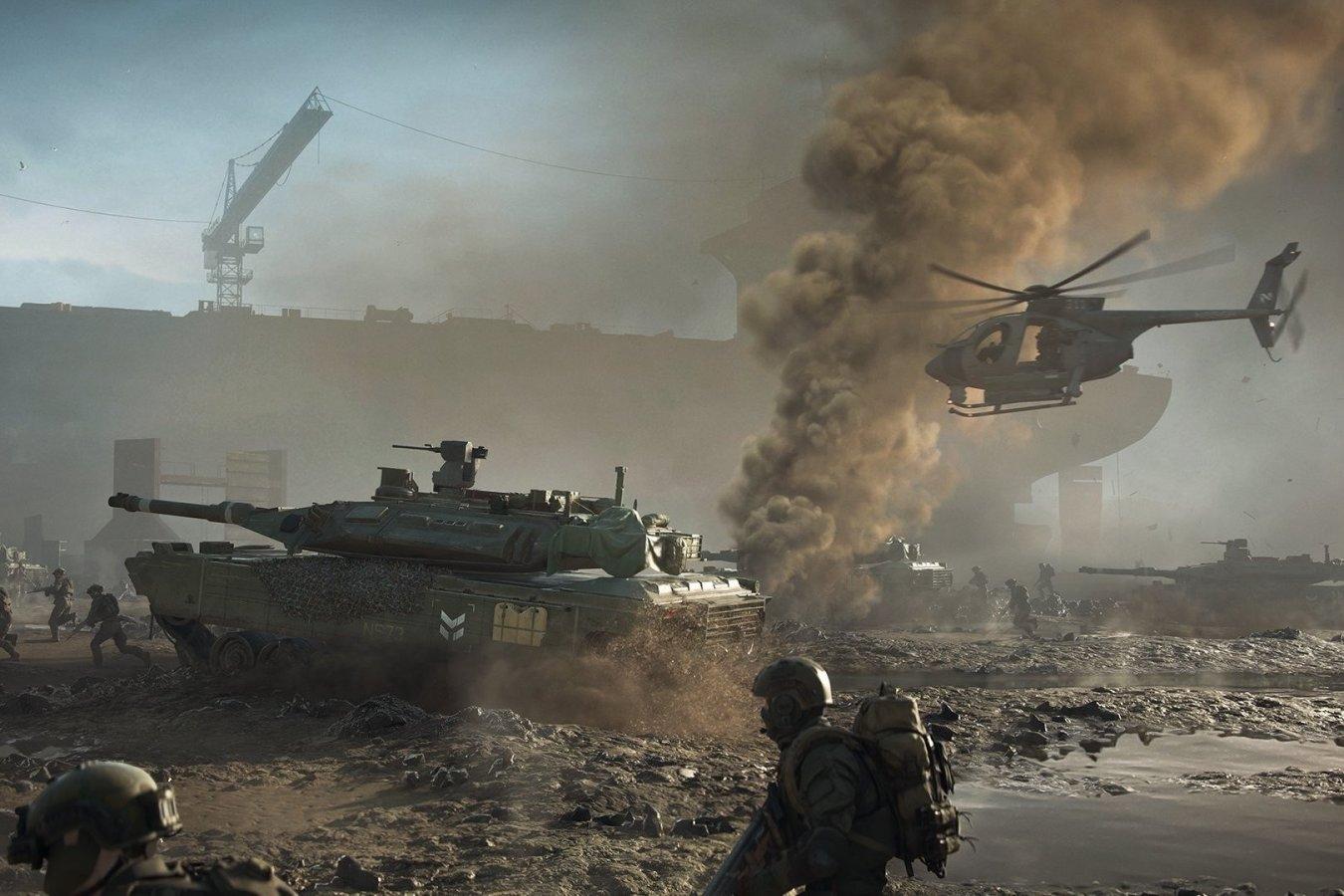 Релиз Battlefield 2042 перенесли на ноябрь