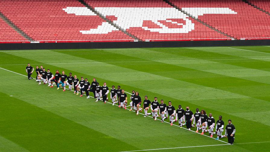 Сборная Шотландии преклонит колено перед матчем с Англией на Евро-2020