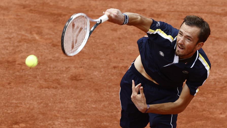 Даниил Медведев впервые в карьере вышел в 1/4 финала 'Ролан Гаррос'
