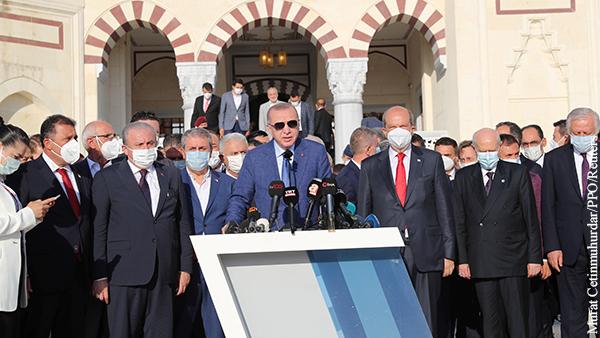В мире: Эрдоган отказался от наполеоновских планов