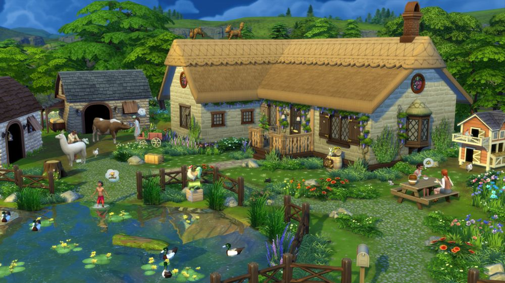 Знакомство с дополнением The Sims 4 Загородная жизнь