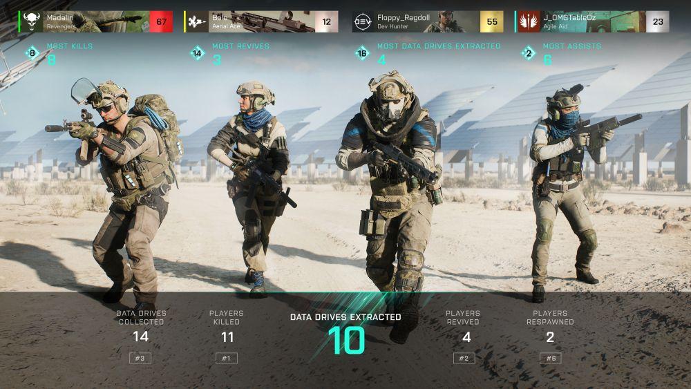 Разработчики рассказали о режиме Hazard Zone, который появится в Battlefield 2042