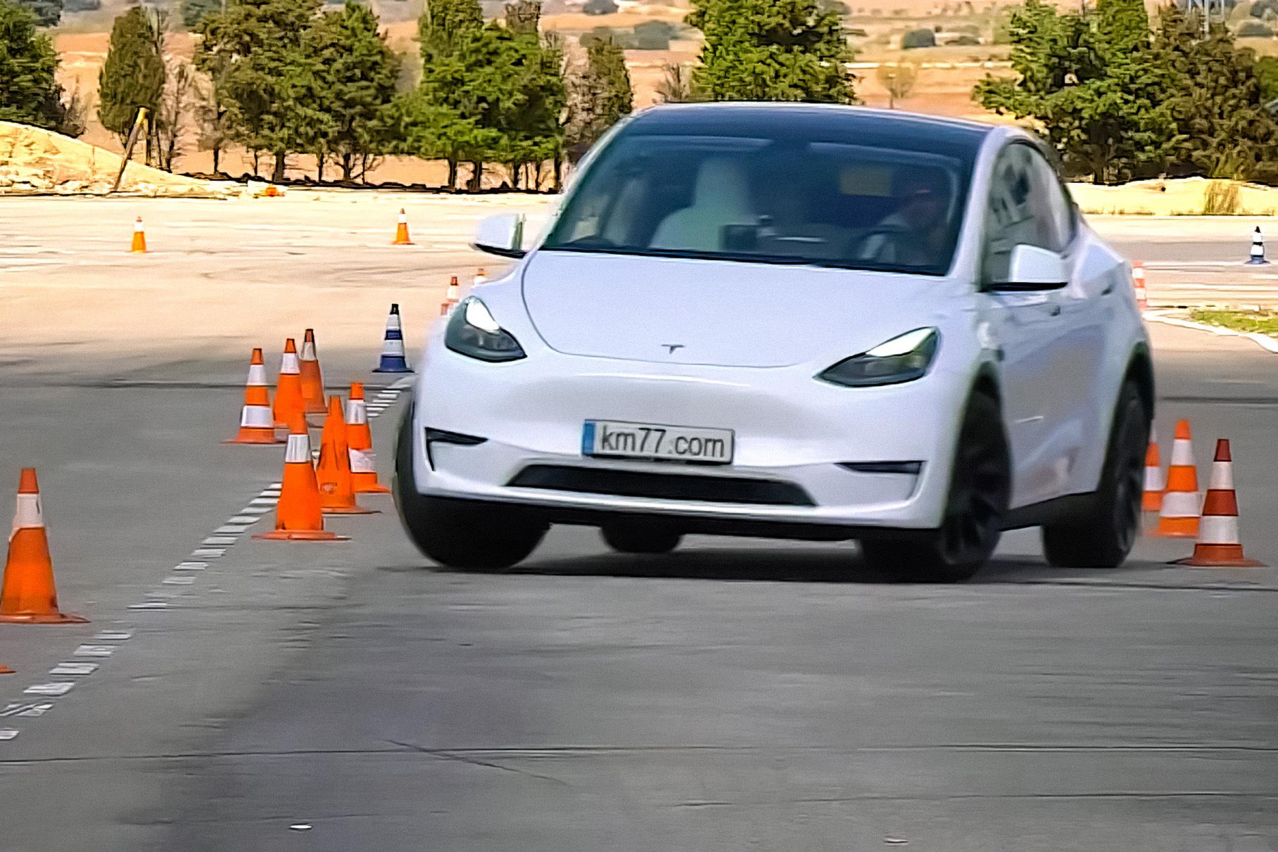 Tesla Model Y удивила экспертов во время «лосиного» теста