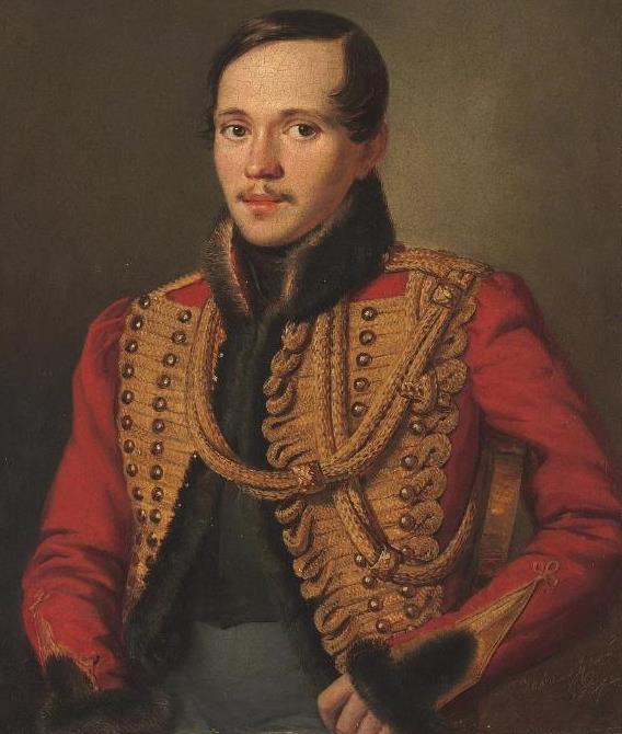 Даты: 15 октября 1814 года родился русский поэт Михаил Лермонтов