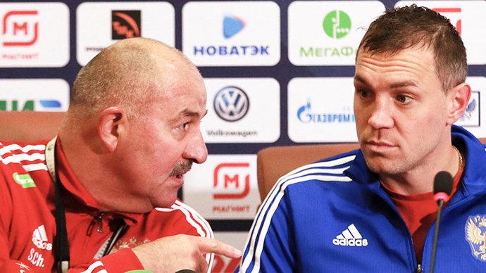 «Хотелось бы не бороться с ними, а играть в футбол». Что сказали перед Бельгией Черчесов и Дзюба