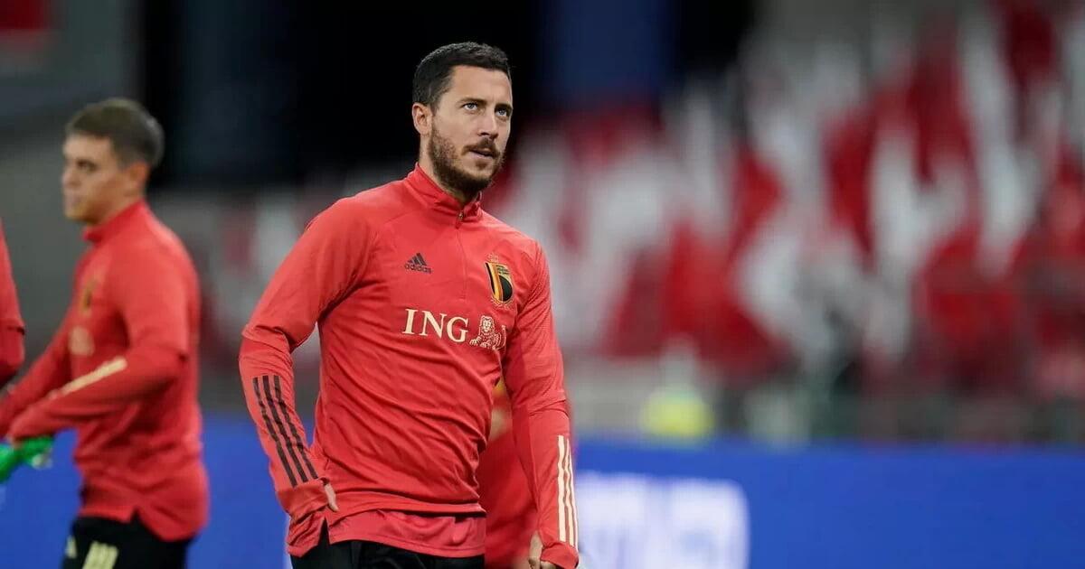 Эден Азар не выйдет в старте Бельгии на матч с Россией (Gol)