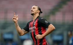 Дубль невероятного Ибрагимовича позволил «Милану» наконец-то победить в Неаполе