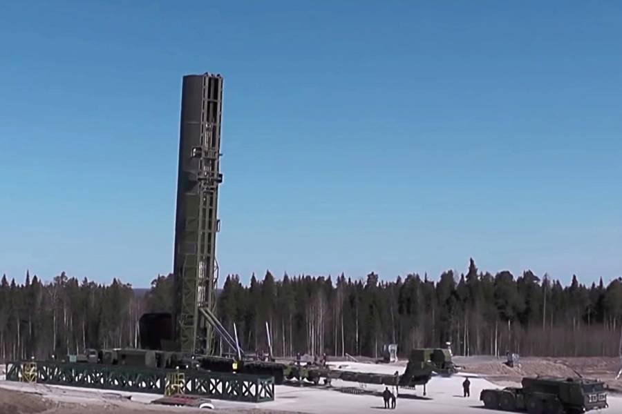 Россия за год трижды испытает перспективный ракетный комплекс 'Сармат'